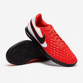 Детские футзалки Nike Tiempo Legend 8 Club IC - Red/Grey