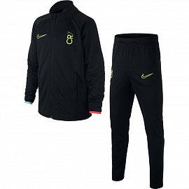 Детский костюм Nike Dri-FIT CR7 Football Tracksuit - Black