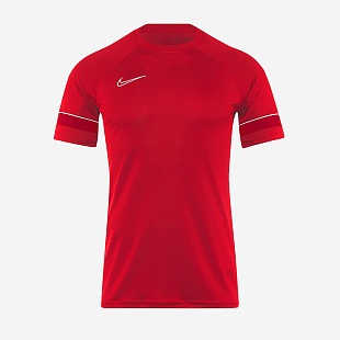 Футболка Nike Academy 21 Training Top - University Red /White