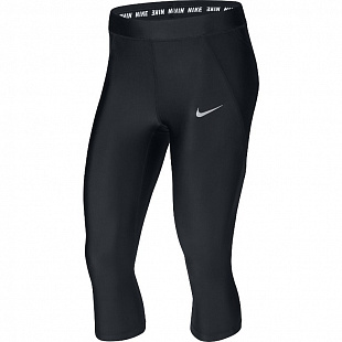 Женские бриджи Nike Power Speed Running Capri - Black