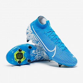 Бутсы Nike Mercurial Superfly VII Elite SG-PRO AC - Blue Hero/White/Volt/Obsidian