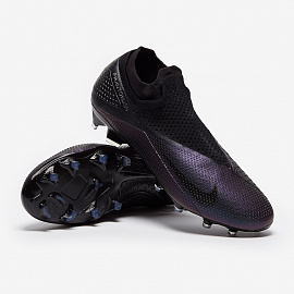 Бутсы Nike Phantom Vision 2 Elite DF FG - Black