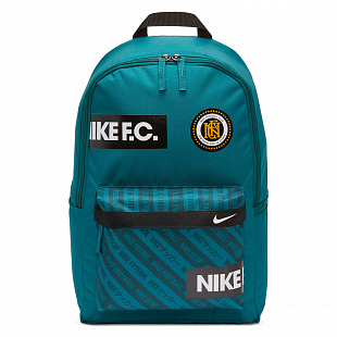 Рюкзак Nike F.C. Soccer Backpack - Geode Teal/Black/White