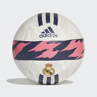 Мяч футбольный Adidas Real Madrid Club Ball - White