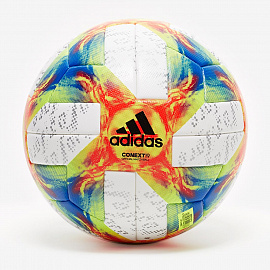 Мяч  adidas Conext 19 Official Match Ball - White/Solar Yellow/Solar Red/Football Blue/Black/Silver Metallic