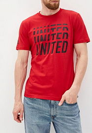 Футболка Adidas MUFC Street Graphic Tee - Red