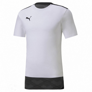 Футболка Puma Teamfinal 21 Casuals Tee - white/black