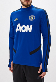 Cвитер Adidas Tiro MUFC Top 19/20 - Royal / Black