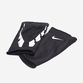 Сетки для щитков  Nike Guard Lock Elite Football Sleeve - Black/White/White
