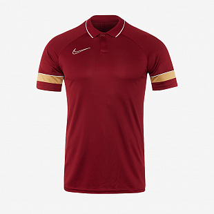 Поло Nike Academy 21 Polo - Team Red /White / JerseyGold