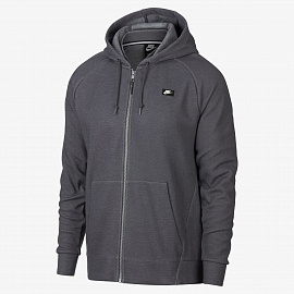 Толстовка Nike Sportswear Optic Full-Zip Hoodie - Grey