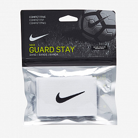 Фиксаторы  Nike Guard Stay II Shin Guard Sleeve - White/Black