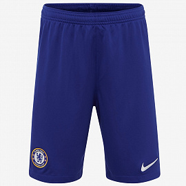 Шорты Nike Chelsea 2019/20 Kids Home Stadium Shorts - Rush Blue/White