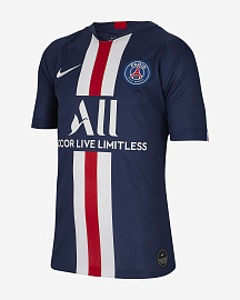 Детская футболка Nike PSG 2019 Youth Home Jersey - Midnight Navy/White
