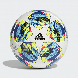 Мяч Adidas Finale 19/20 Competition - White/ Bright Cyan/Solar Yellow/Shock Pink