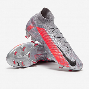 Бутсы Nike Mercurial Superfly 7 Elite FG - Black/Bomber Grey