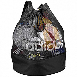 Сумка  adidas Football Signature Ball Net - Black/White
