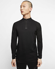 Свитер Nike VaporKnit Strike Drill Top - Total Black