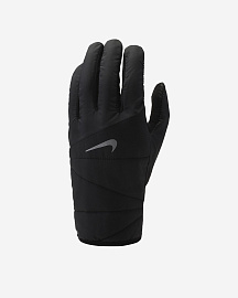 Перчатки Nike Quilted 2.0 Running Gloves - Black