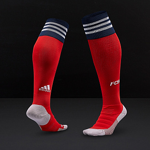 Гетры adidas FC Bayern Munich 2018/19 Home Socks - Fcb True Red/White/Collegiate Navy