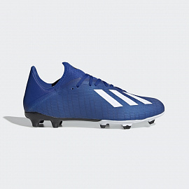 Бутсы Adidas X 19.3 FG - Royal Blue/White/Core Black
