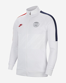 Олимпийка Paris Saint-Germain Jacket - White/White/University Red