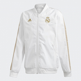Детская куртка Adidas Real Madrid Anthem Jacket - WHITE