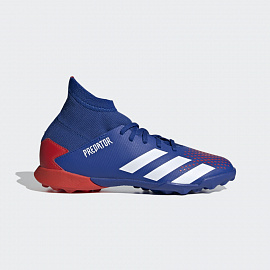 Детские шиповки Adidas Predator 20.3 Turf Shoes - Blue