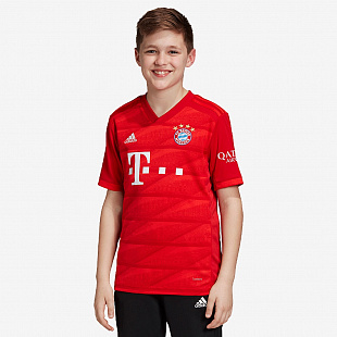 Футболка adidas FC Bayern Munich 2019/20 Youths Home Shirt - FCB True Red