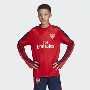 Детский свитер Adias Arsenal Training Top - Scarle/Conavy