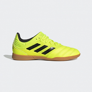 Детские футзалки Adidas Copa 19.3 IN Sala - Solar Yellow/Core Black