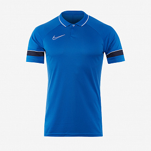 Поло Nike Academy 21 Polo - Royal Blue /White