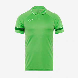 Поло Nike Academy 21 Polo - Light GreenSpark / White