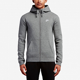 Худи  Nike Sportswear Club Hoodie - Dark Grey Heather