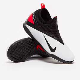Детские шиповки Nike Phantom Vision 2 Academy Dynamic Fit TF - White/Black