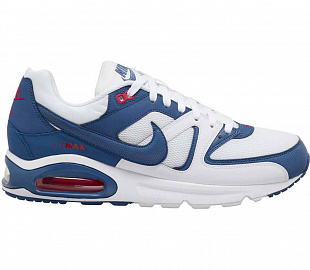 Кроссовки Nike Air Max Command M - White/Blue