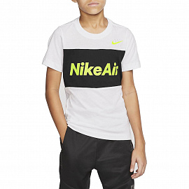 Детская футболка Nike Sportswear Nike Air Tee - White/Black