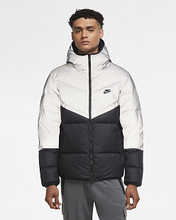 Пуховик Nike Sportswear Down-Fill Windrunner Men's Shield Jacket - White/Black