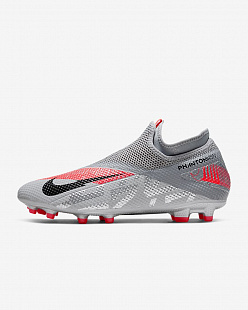 Бутсы Nike Phantom Vision 2 Academy Dynamic Fit MG - Coral/Grey