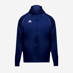 Ветровка adidas Core 18 Rain Jacket - Dark Blue/White