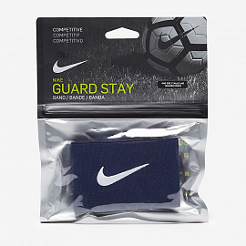 Фиксаторы  Nike Guard Stay II Shin Guard Sleeve - Navy/White
