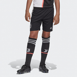 Шорты детские Adidas Juventus Home Shorts - Black