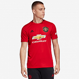 Футболка adidas Manchester United 2019/20 Home Shirt - Real Red