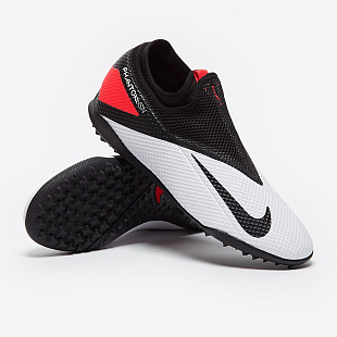 Шиповки Nike Phantom Vision II Academy DF TF - White/Black