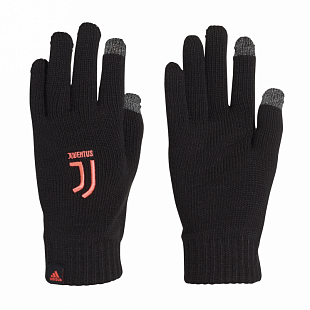 Перчатки Adidas Juve Gloves - Black