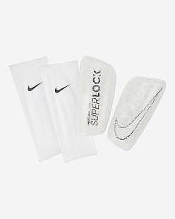 Щитки Nike Mercurial FlyLite SuperLock Football Shinguards - white