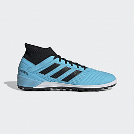 Шиповки Adidas Predator 19.3 FG - Bright Cyan/Core Black/Yellow