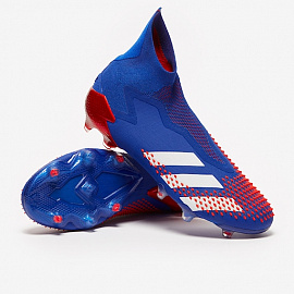 Бутсы Adidas Predator Mutator 20+ FG - Royal Blue/White/Active Red