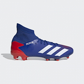 Бутсы Adidas Predator 20.3 FG - Blue / Red