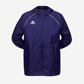 Ветровка adidas Junior Core 18 Rain Jacket - Dark Blue/White